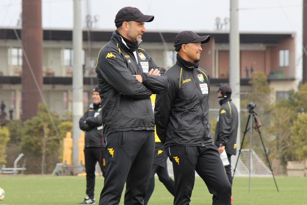 フアン エスナイデル監督「我々のやり方はいつも同じ。試合を支配する。ただ、そのためにはアグレッシブさが必要になります」