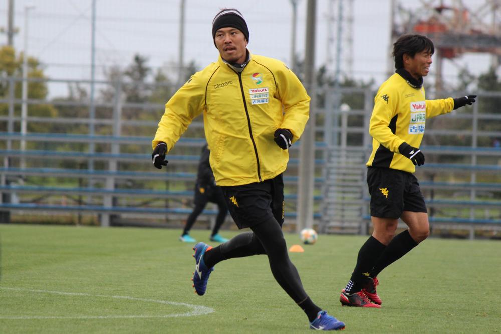 田坂祐介選手「しっかり自分たちがボールをキープしながらゲームをコントロールしていけたら、うちに分がある戦いになる」