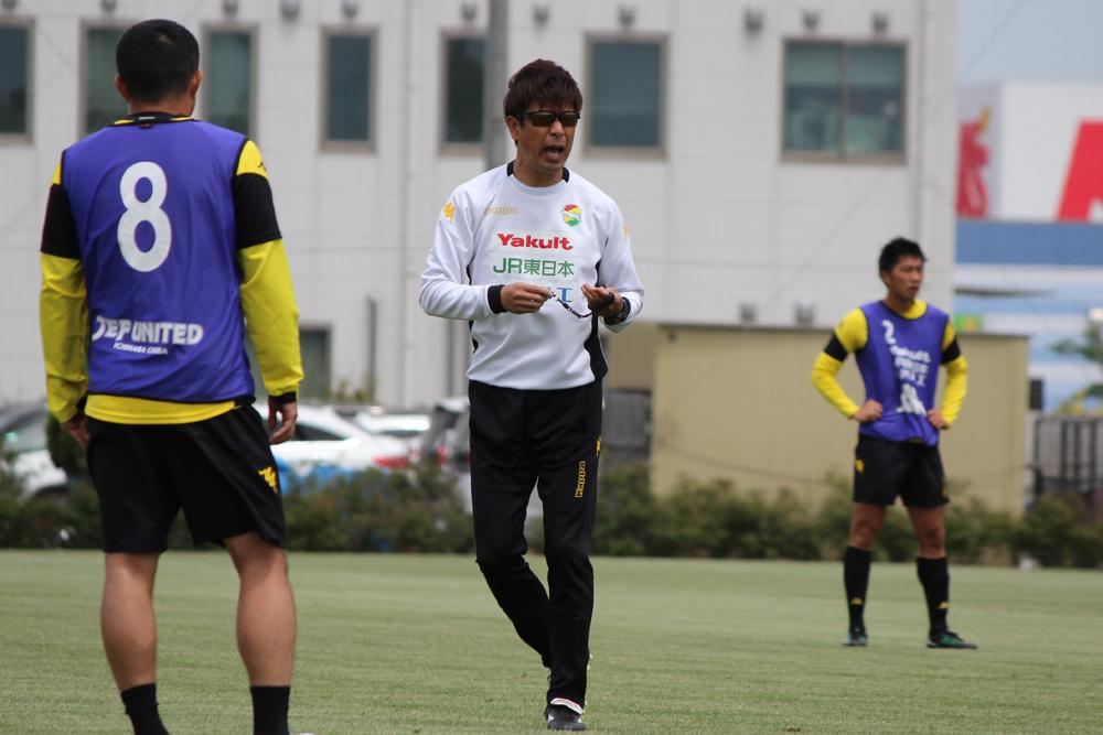 江尻篤彦監督コメント「自分たちがやらなければいけないことをチャレンジしたい」