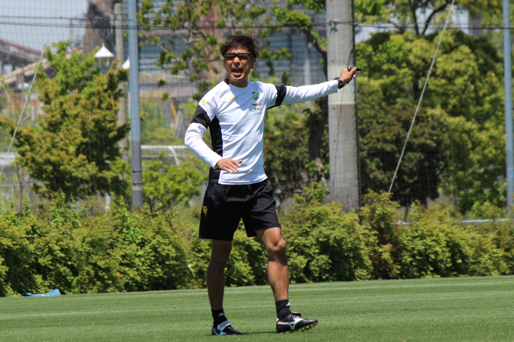 江尻篤彦監督「少しでもチームが本当に上向きで、ここからだとなっていけるように、やっぱり東京V戦は重要になる」