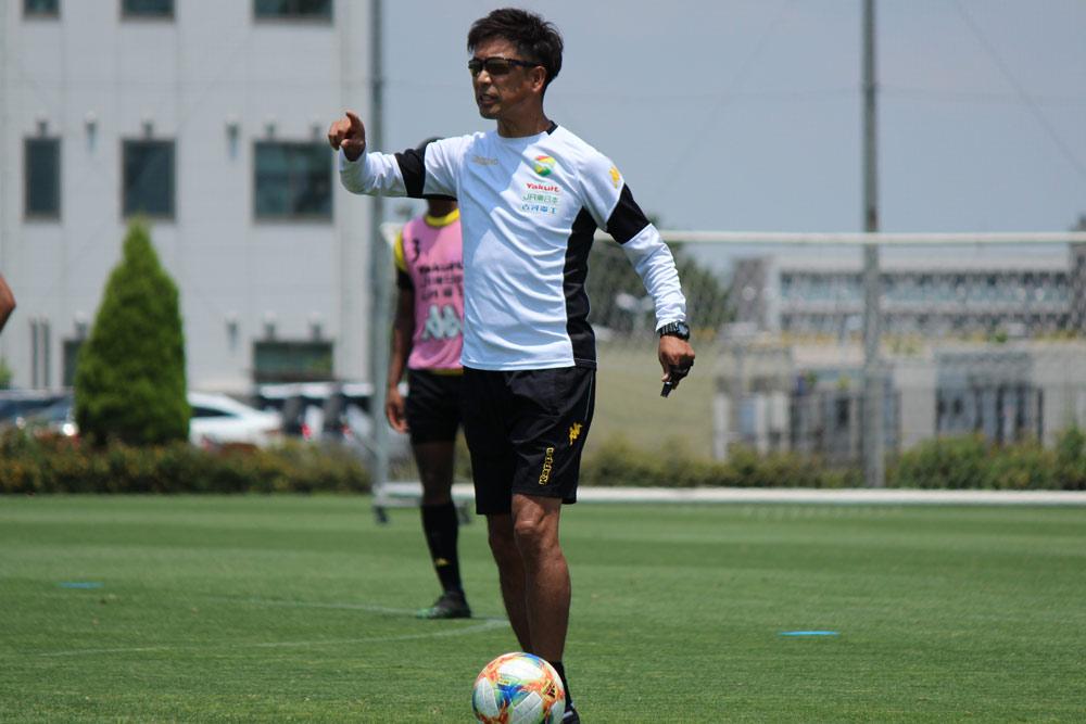 江尻篤彦監督「我々が置かれている状況から考えると本当に大事な試合になります」