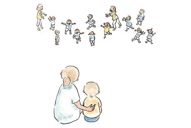 ひといちばい敏感な子とその親が始めた安心基地の作り方