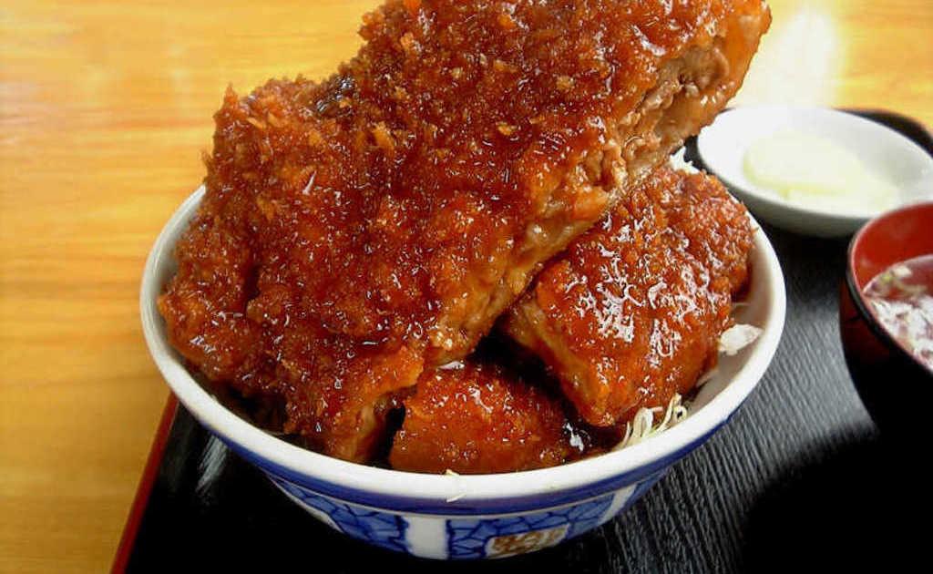 会津名物・ソースカツ丼