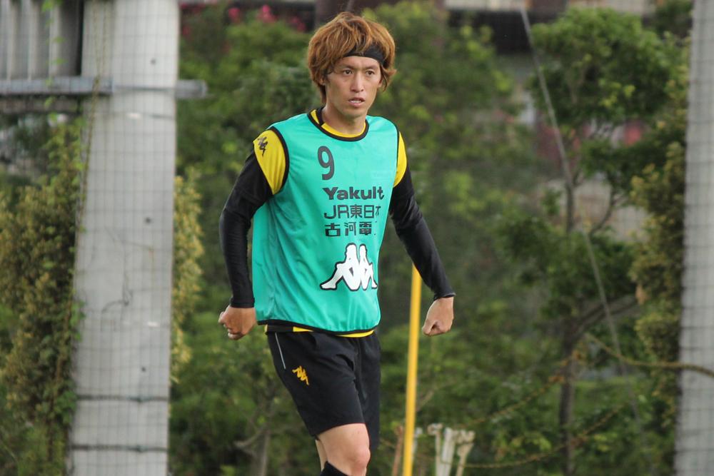 増嶋竜也選手「いつもどおり前節でできたことを続けて、悪かったところを修正してというのを繰り返してやっていくだけ」
