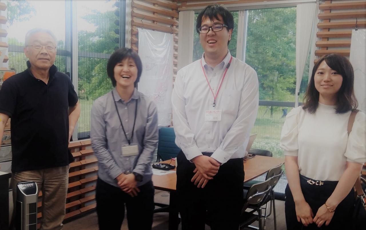 【市町村支援センター訪問紀】~津山と真庭 2つのセンターで合同情報交換会を開催~