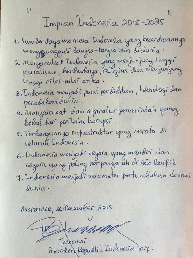 ジョコウィの夢と開発ビジョン ~インドネシア経済の未来はどう描かれているか~(松井和久)