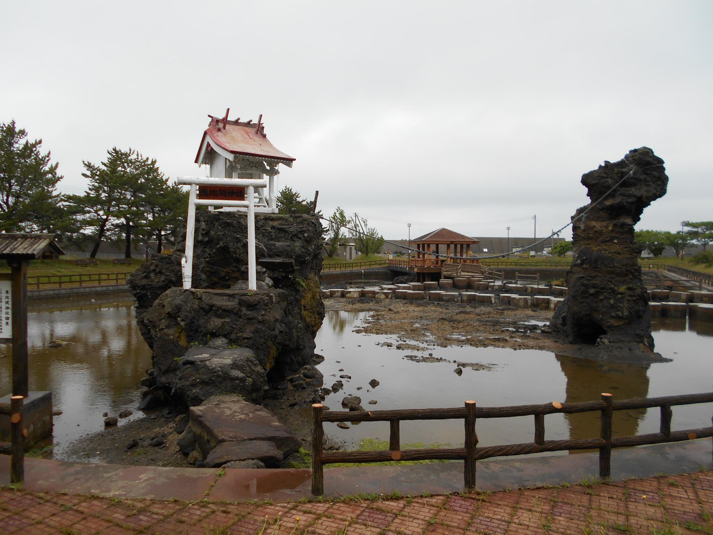 下北半島を歩く(下風呂温泉)