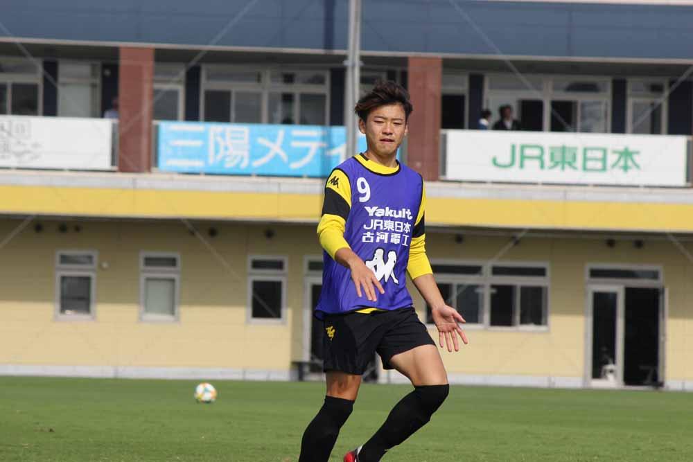 本田功輝選手「まずは今年デビューしたいので、最後の最後まで(出場を)狙っています」
