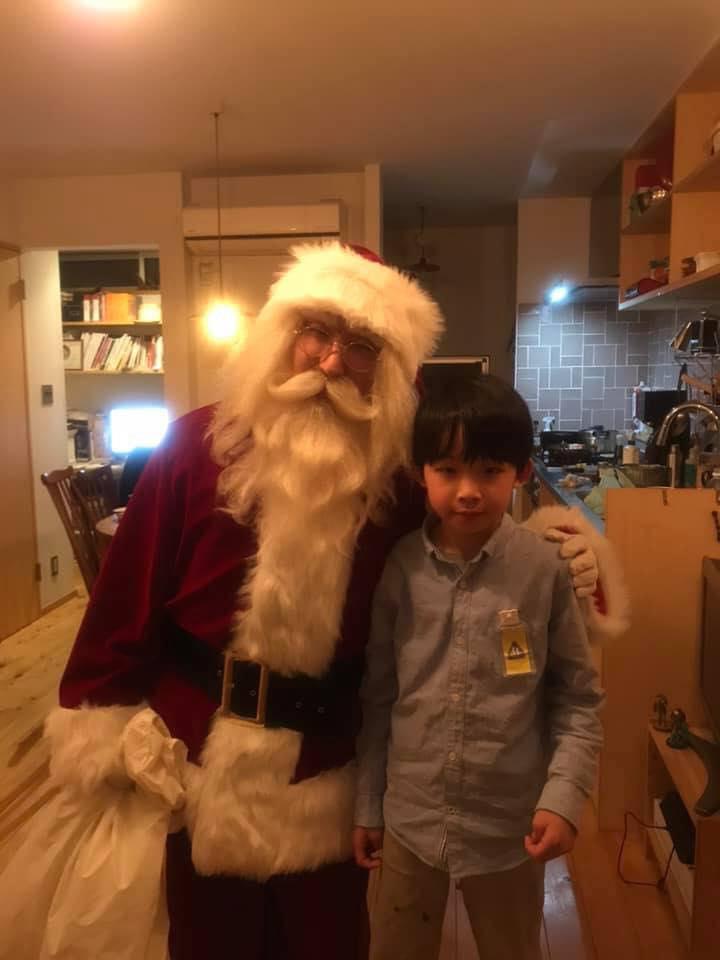 泣かない息子が見せた涙。サンタさんとの「最終回」