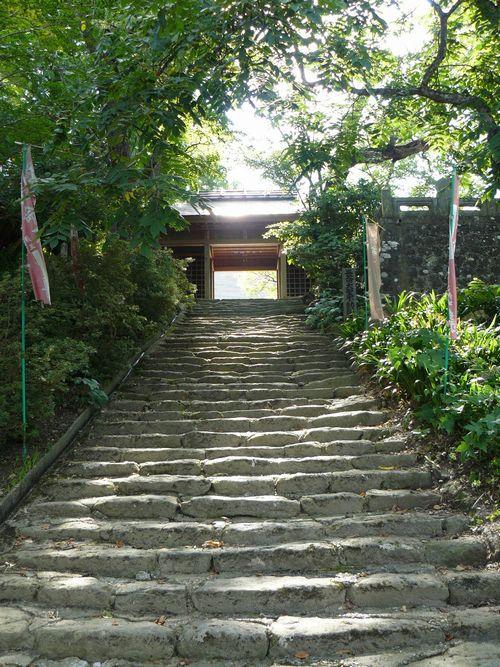 素晴らしい古刹の宝雲山 大龍寺と新島八重顕彰会