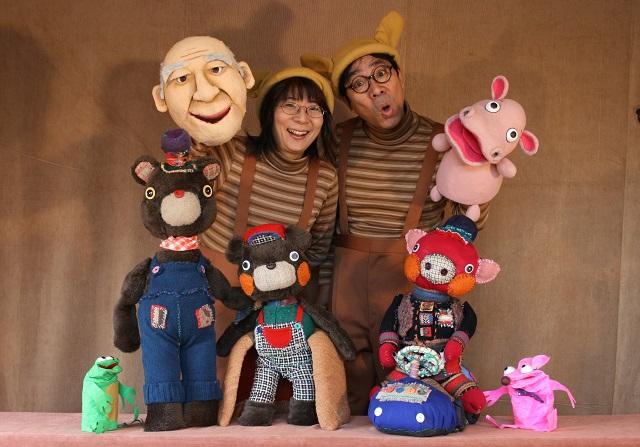おうちを劇場に!「人形劇団ののはな」納富俊郎さんのオリジナル人形を作って公演しよう