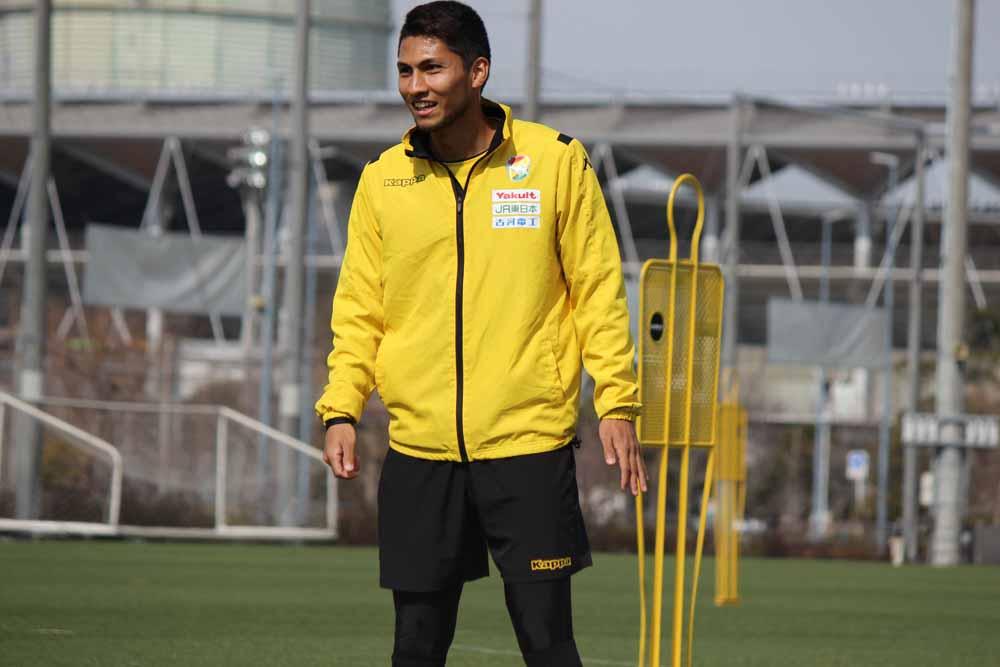 熊谷アンドリュー選手「やっぱりみんなと一緒にやると楽しいし、すごくストレスが発散できた」