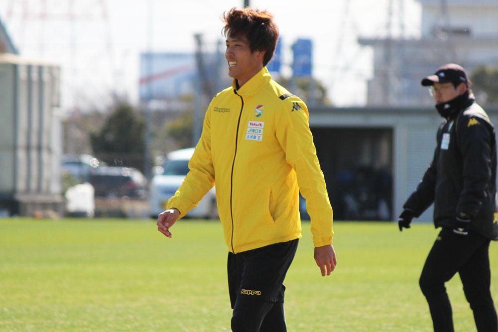 新井一耀選手「自分たちで盛り上げていかないといけないと思うので、必要以上に声を出していきたいです」