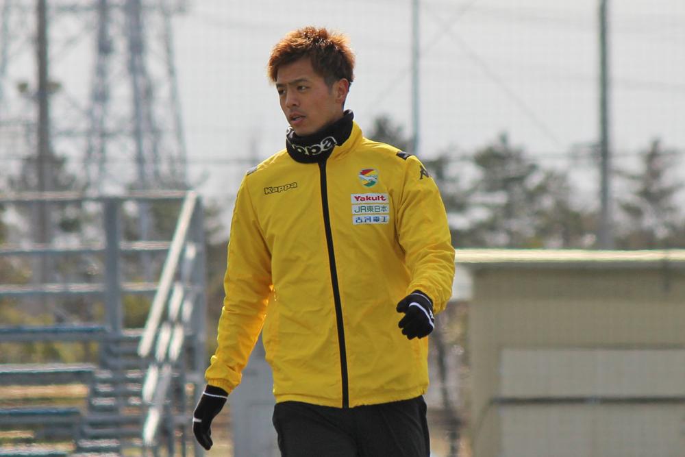 山下敬大選手「いい攻撃に行くために守備からチーム全体で意識してやっている」