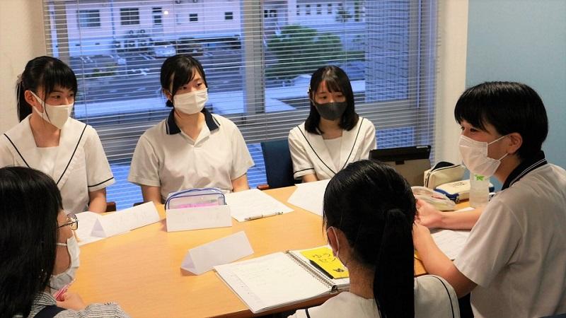 高校生ボランティア・インタビュー「今を考える@岡山高校生ミーティング」