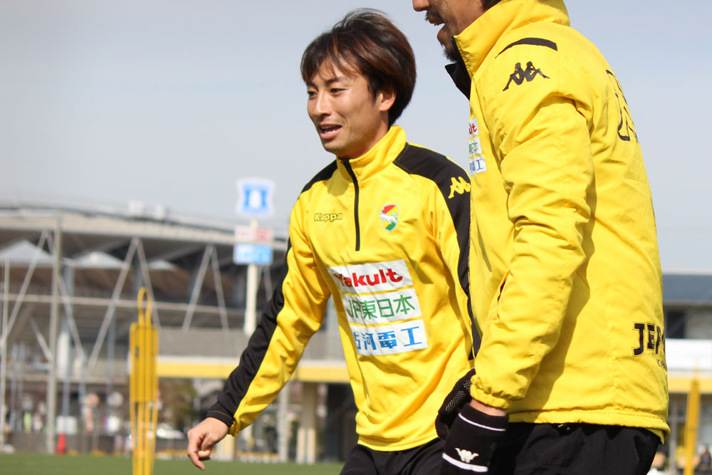矢田旭選手「琉球はビルドアップの流れがすごくスムーズで手強い相手。先制点を取れるかが重要になってくる」
