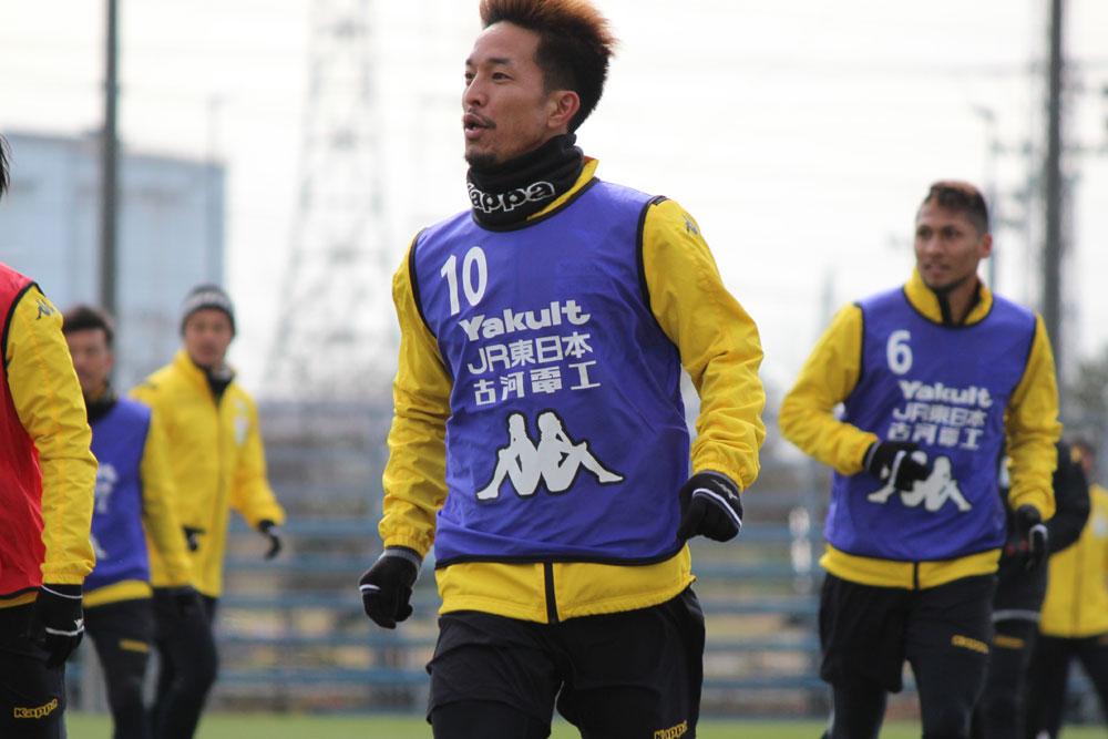 田口泰士選手「もっと一人ひとりが自覚して今週からの後半戦につなげていかないといけないと思っています」