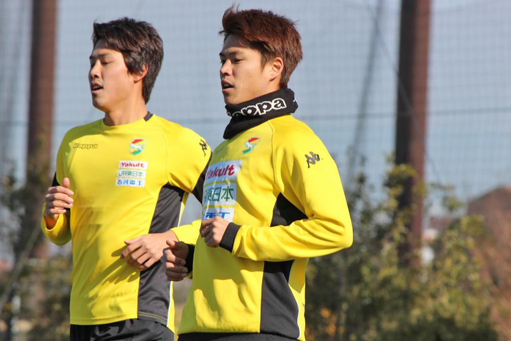 鳥海晃司選手「水戸戦は5連戦をやっていく中で勢いに乗れるような試合にしたい」
