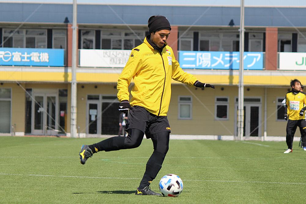 為田大貴選手「一人ひとりがミスを恐れずにプレーしていくことが大事かなと思います」