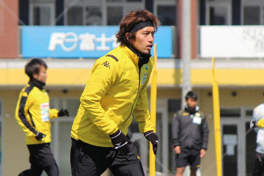 増嶋竜也選手「自分がいなくなるからといって手は抜かず、しっかり感謝の気持ちを込めながらプレーしたいなと思います」