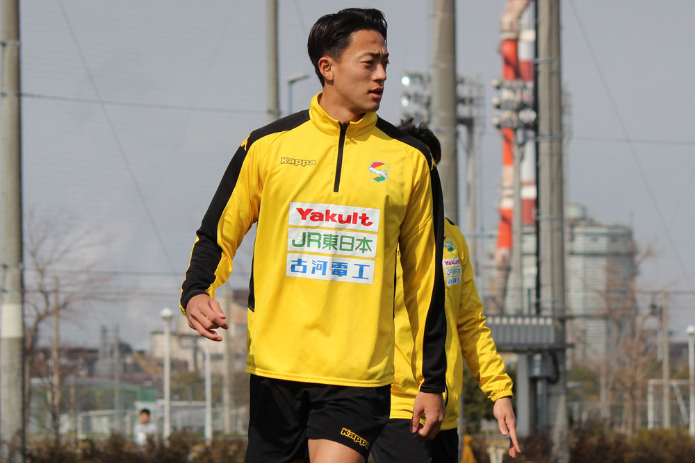 岡野洵選手「マスさんがああいうふうに(契約)満了になったからこそ、僕は教えてもらっていたので胸を張って、ジェフで残り3試合ですけど、全力でプレーできたらなと思っています」