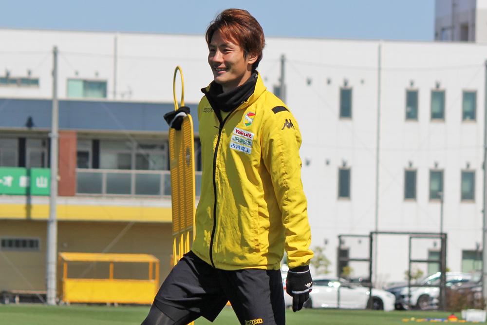 米倉恒貴選手「この2試合はこのメンバーでできるということを大事に考えて、そう思いながらも楽しみながら結果を出せればいいなと思っています」