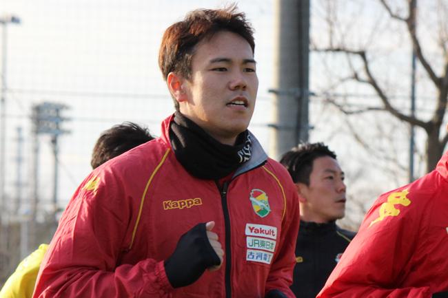 鈴木椋大選手「去年やってきたことの積み重ねと今年入った選手のいいところがいい感じで出ていて、みんなもそれぞれ特徴が分かってきている。それが試合で発揮できたらいい」