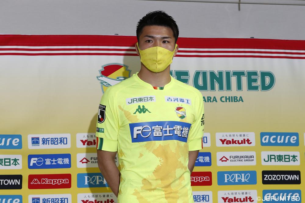 大槻周平選手「(愛媛は)前線からけっこう守備をしてくるというところがあるので、そういったところを裏返せればチャンスになるのかなと思います」