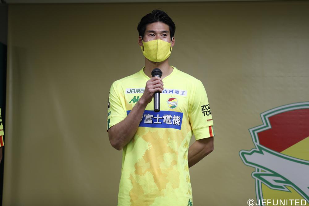 鈴木大輔選手「(愛媛は)ハードワークしてくるなと。スペースに走ってくる選手が多いというのは印象的だったので、そこに対して僕たちがどういう守備をするかは大事になる」