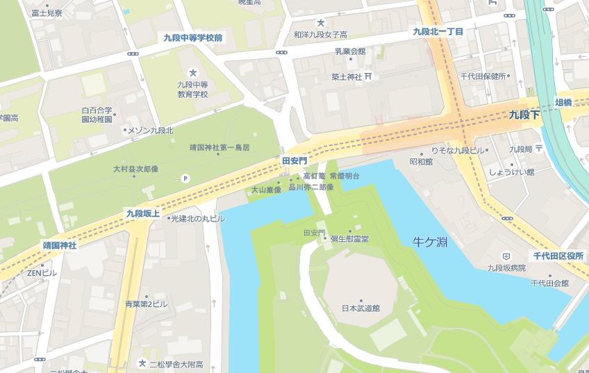 江戸の坂道(九段坂)