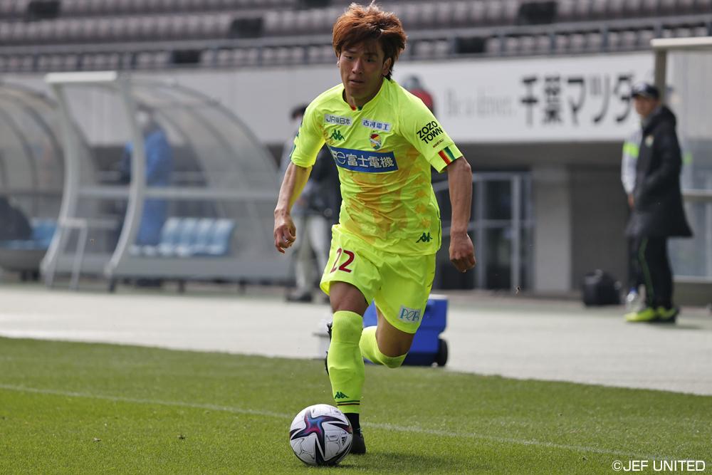 小田逸稀選手「もっとアシストもしたいし、得点にも絡んでいきたい」