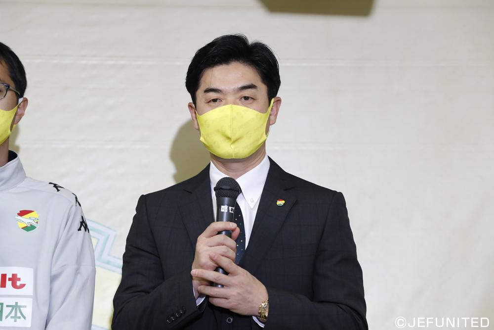 尹晶煥監督「行くべき時は行かないといけないし、行った時にはしっかりボールを奪いに行かないといけない」
