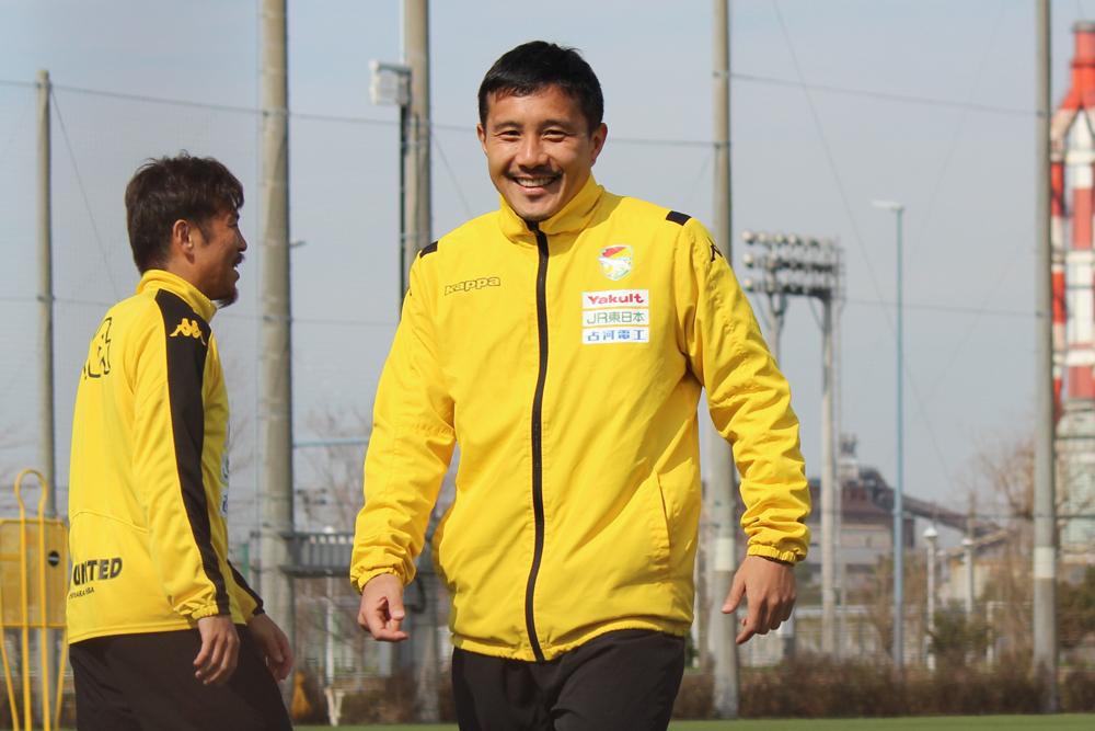 安田理大選手「チーム全員で競争力を高め合ってやっていきたい」