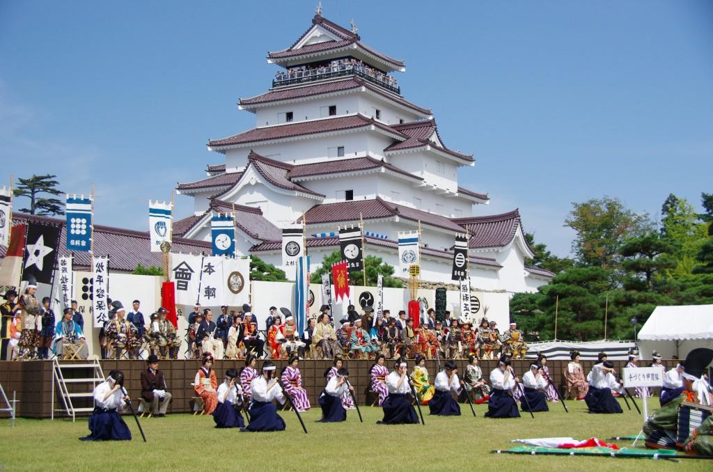 2年ぶりの会津まつり・会津藩公行列開催