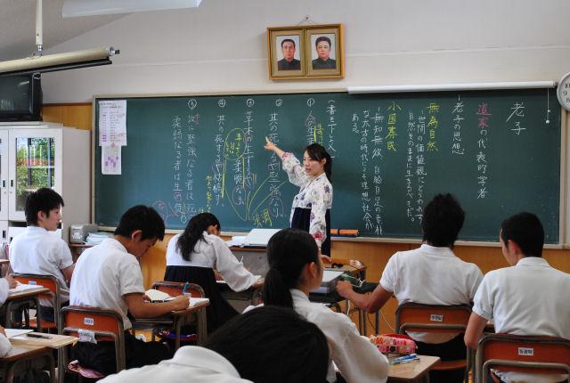 """朝鮮学校を訪ねて「""""よく""""ではなく """"ありのまま""""を」"""