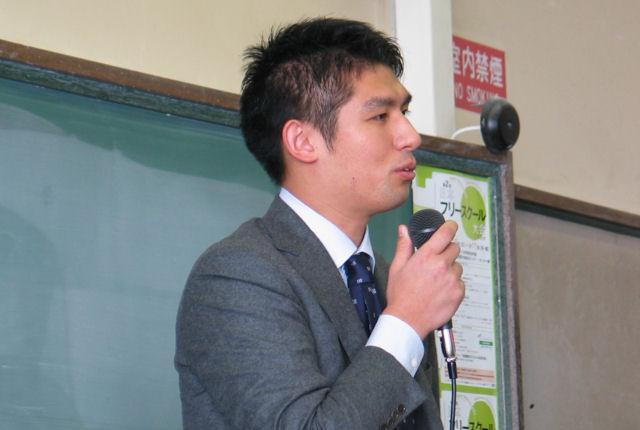 JDEC講演抄録② 不登校経験者・衆議院議員/寺田学さん