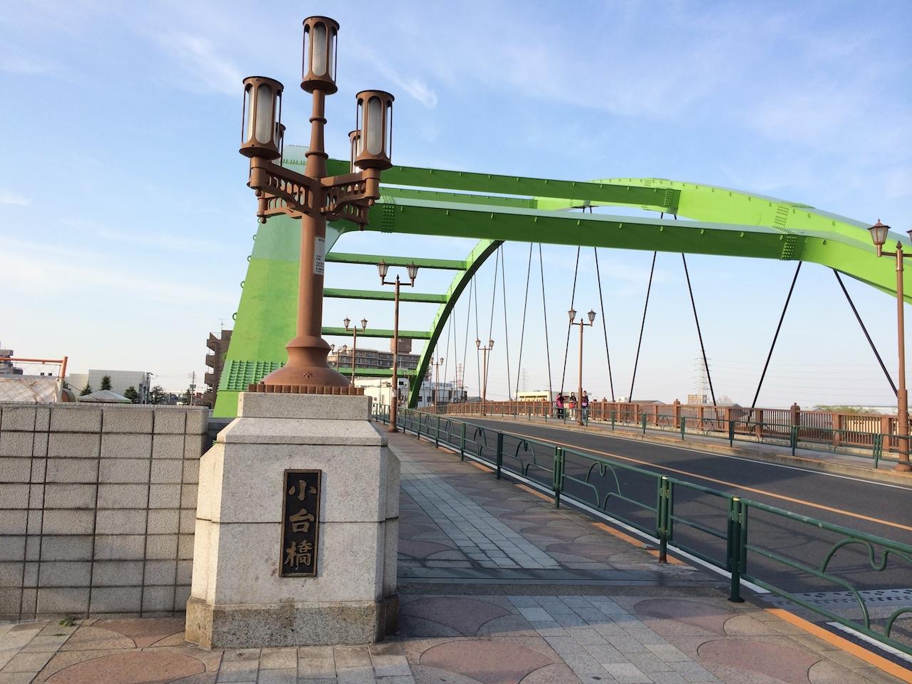 尾久を満喫!ファミリーサイクルロード:④小台橋、レンガ塀を経て都電ミニ資料館へ