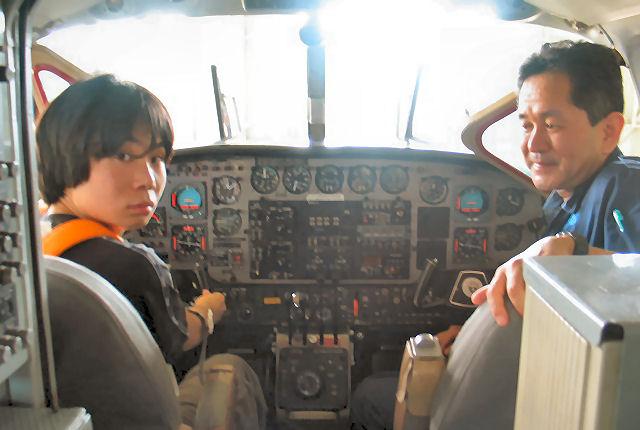 エンジニア、パイロットに会おう!