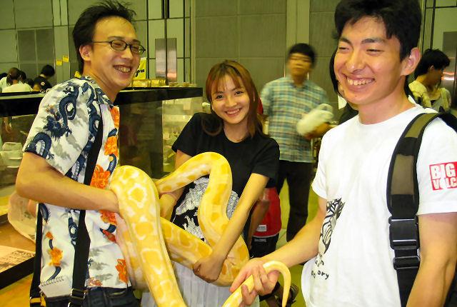 関東最大級!昆虫・爬虫類のイベントを体感