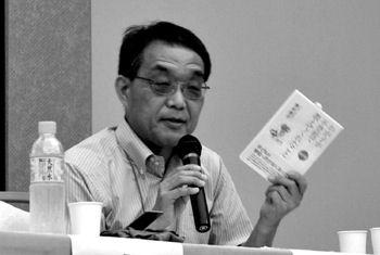 北海道沼田町にて講演会、講師に野村俊幸さん
