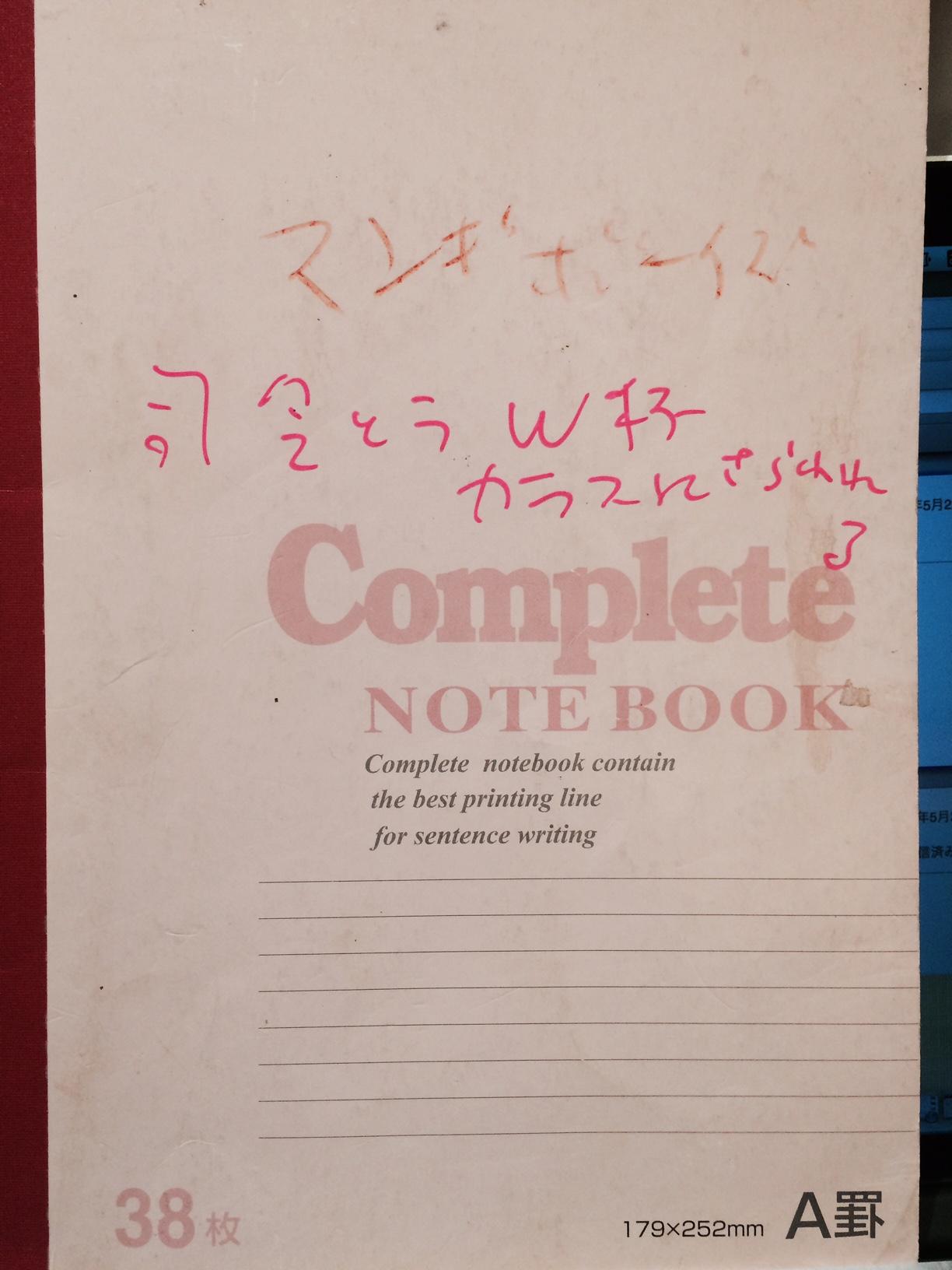 『ロビン西の描き捨てノートマンガ2004ー2014』第9回