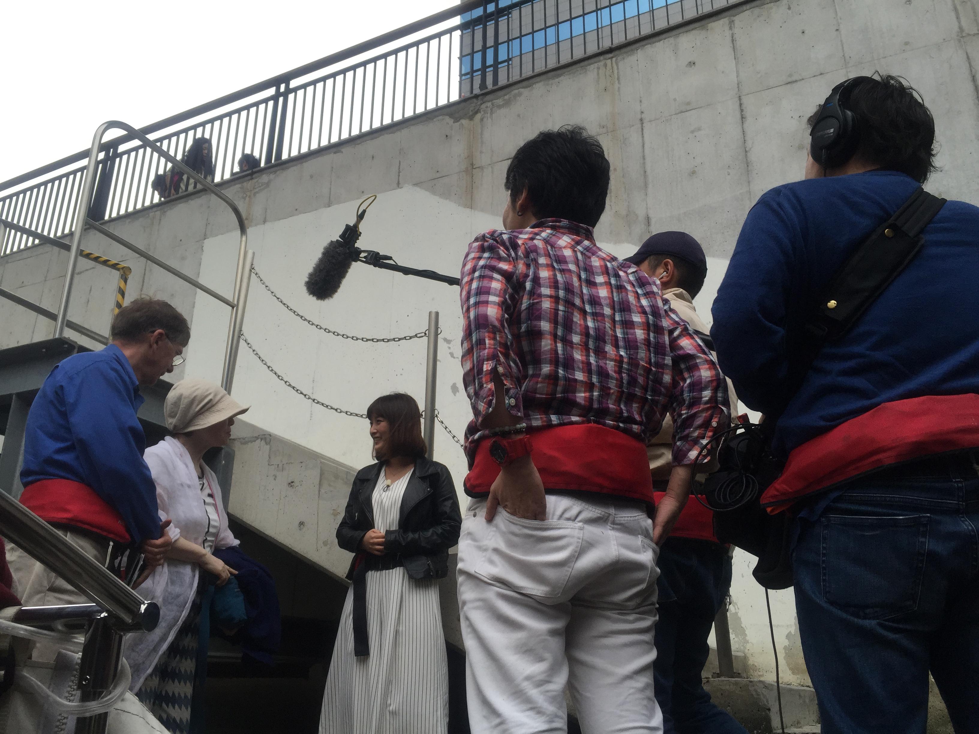 5/4 16:00~ テレビ東京 L4YOU!(エル・フォー・ユー)で、都心の水辺でエコツアーの模様が紹介されました!