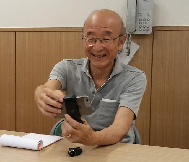 【面白人】茗荷谷界隈で身の回りの情報を発信、稲富滋さん/「駅ごとに僕みたいな人がいればいいんだけど」
