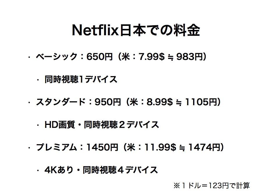 Netflix、日本での料金体系を発表。同時にソフトバンクと販売提携!