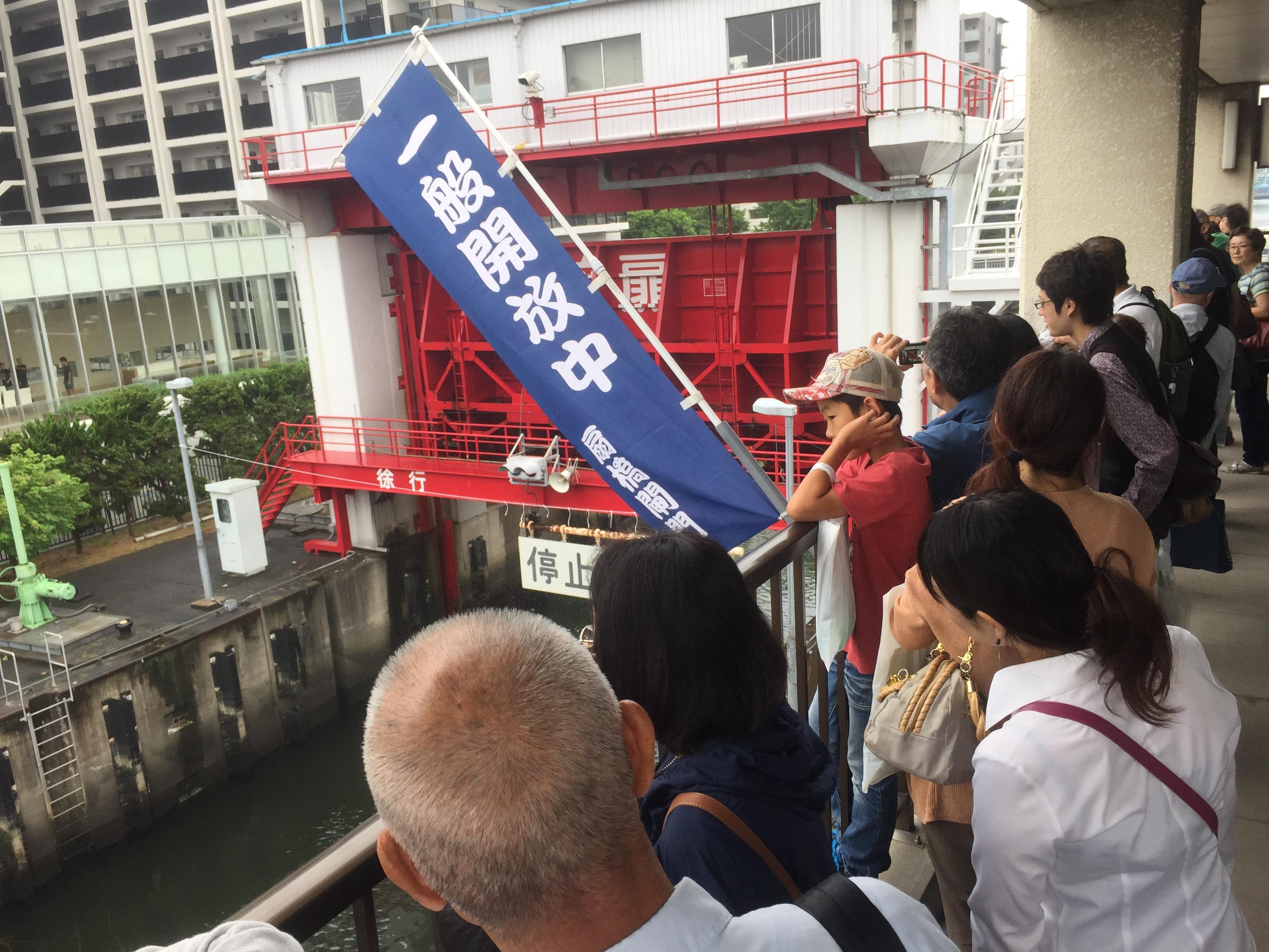 【活動報告】 扇橋閘門見学クルーズを開催しました!