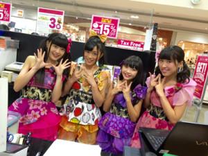 【渡良瀬橋43活動報告】CDリリースイベント@イオンモール太田&コムファーストアピタ足利店!!