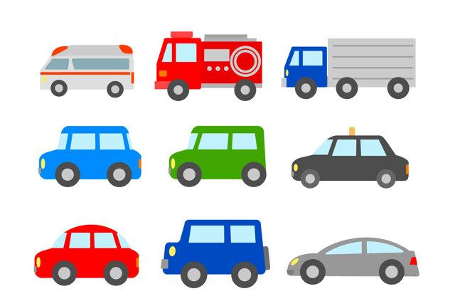 日本で売られている車は何台?
