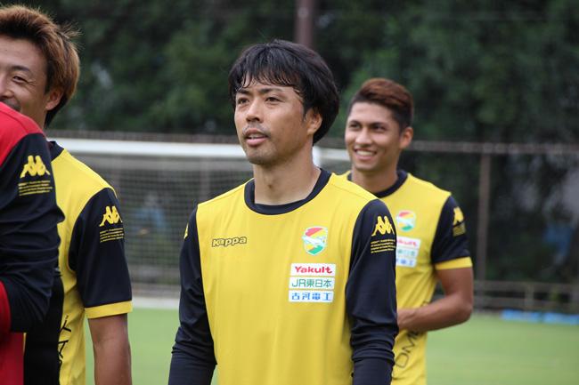 山本真希選手「いつもどおりに得点に絡むプレーを狙っていきたい」