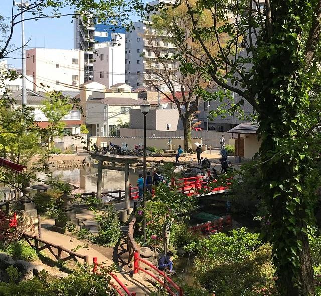 鳥がさえずり、かっぱも出没!?由緒正しき須藤公園