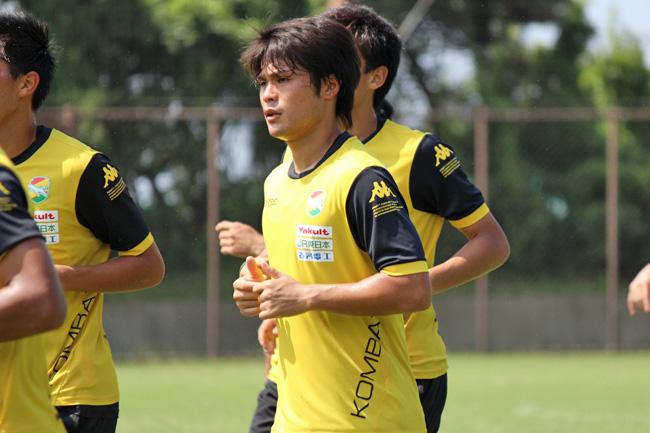 為田大貴選手「ゴールを狙って行きたいです」